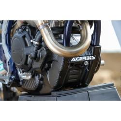 Krator Motocross Dirt Bike Fork Support Brace Stand Protector 18 cm for KTM Honda Black for Yamaha TX SR CS YX RD 350 400 500 600 650 750