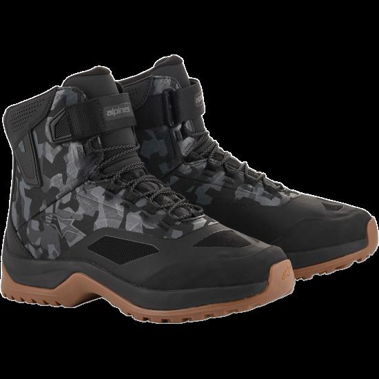 ALPINESTARS CR-6 Drystar® Shoes - Black/Gray/Gunmetal