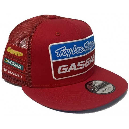 TLD GASGAS  Team Snapback Hat; Red OSFA