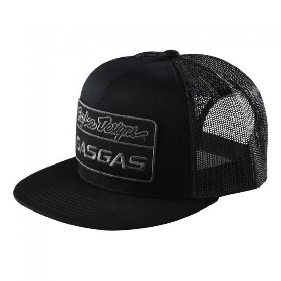 TLD GASGAS Team Snapback Stock Hat; Black OSFA