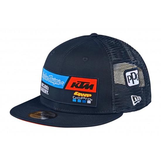 TLD KTM Team Snapback Hat; Navy