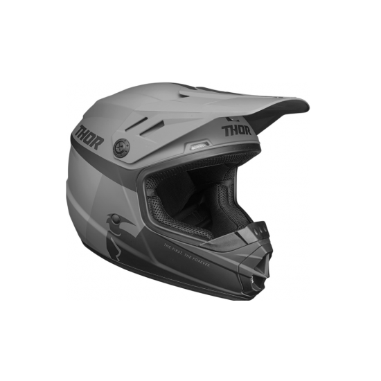 THOR Sector Racer Helmet Youth Black/Charcoal