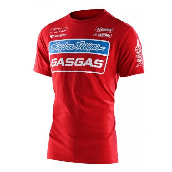 TLD GASGAS Team Tee Red