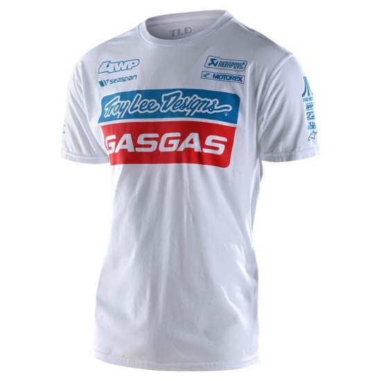 TLD GASGAS Team Tee White