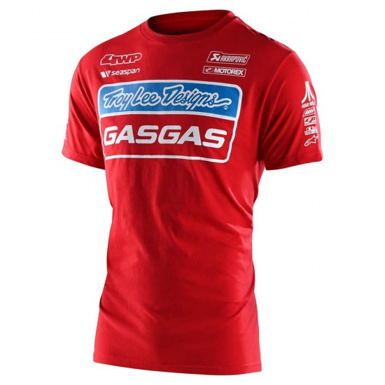 TLD GASGAS Team Youth Tee Red