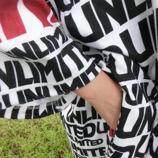 UNLIMITED Microfibered Pull-OverTowel Hoodie -LOGO